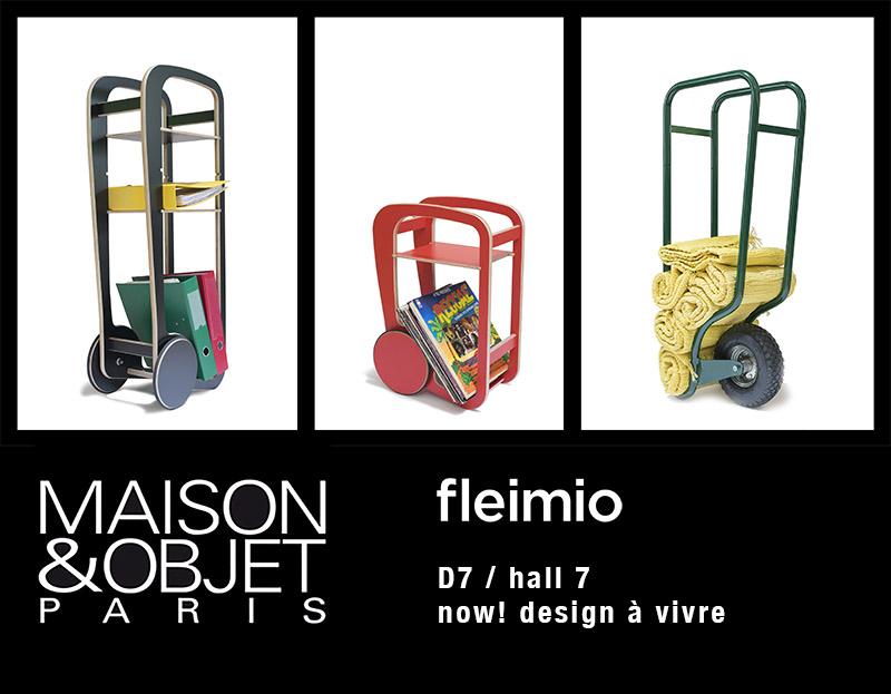 fleimio stand D7 hall 7 M&O Paris sep 2017