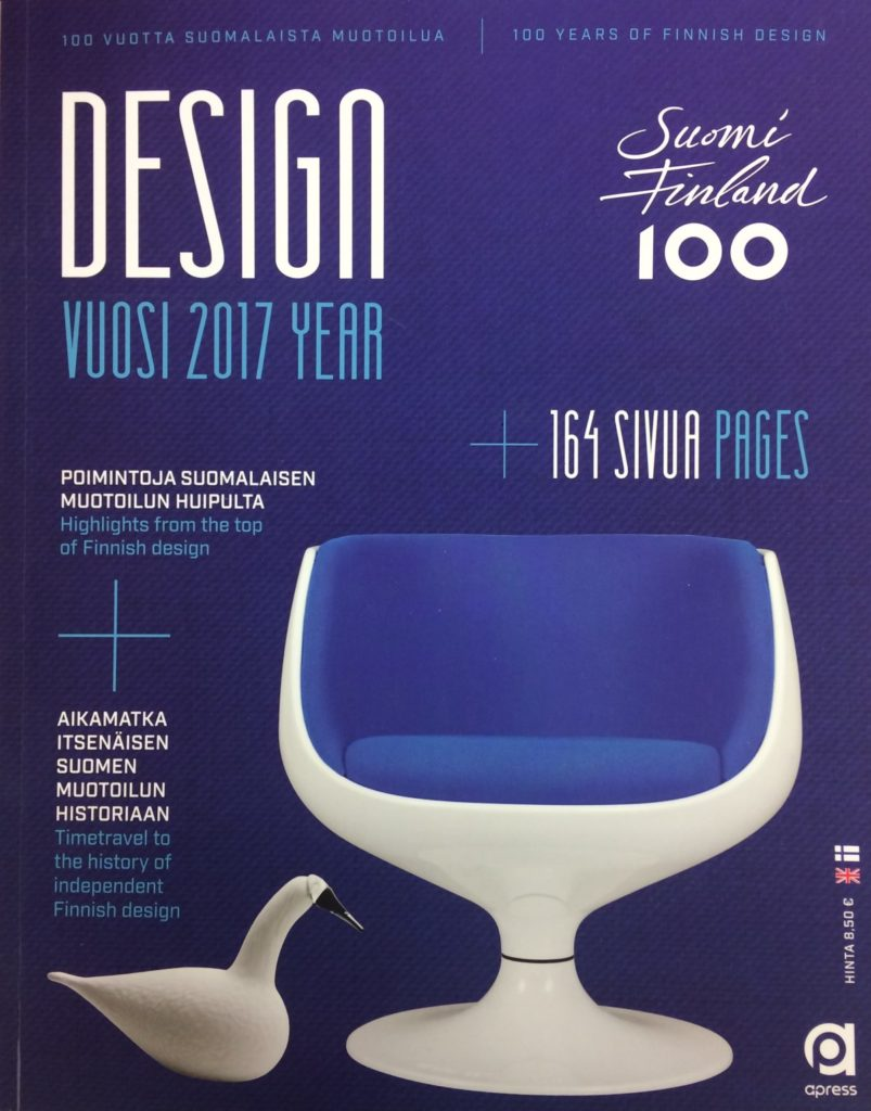 cover of the design year finland 2017 publication