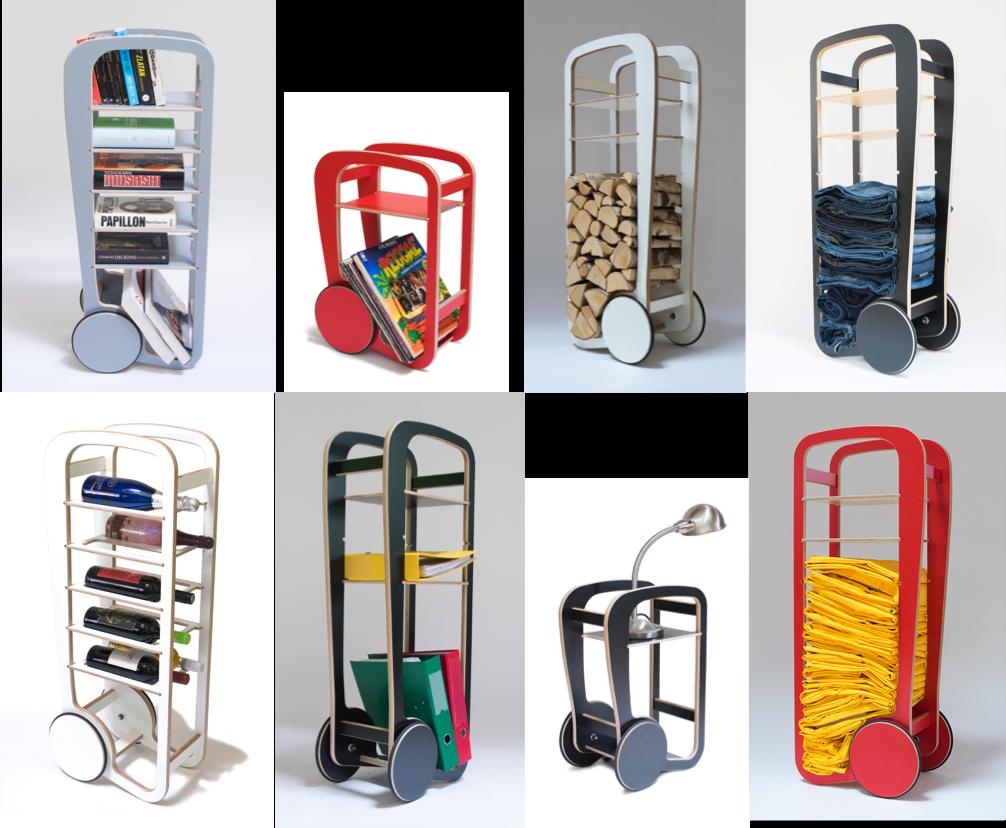 versatile fleimio trolleys for playful use