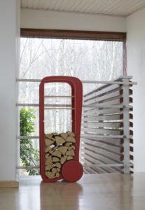 fleimio trolley original red at fleimio headquarters