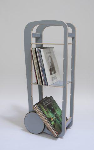 fleimio trolley with vinyls