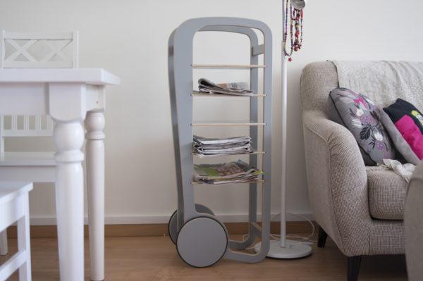 fleimio trolley 5 grey