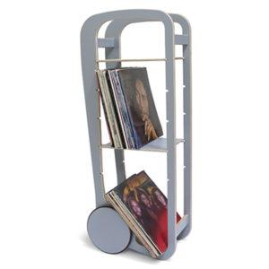 fleimio design original trolley - grey with vinyls
