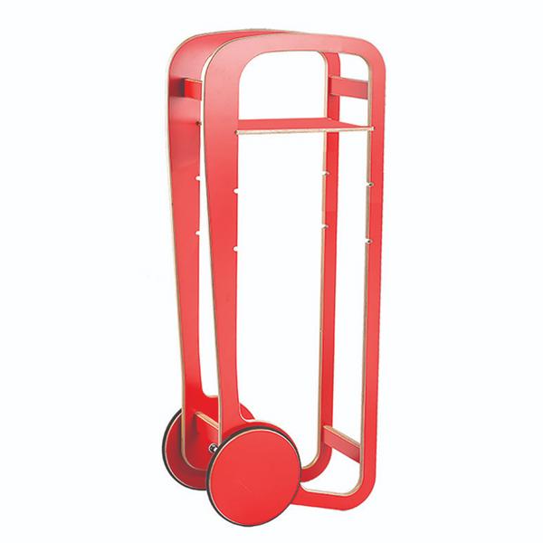 fleimio design trolley - red