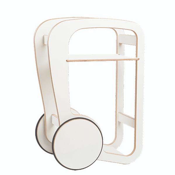 fleimio design - trolly mini - white