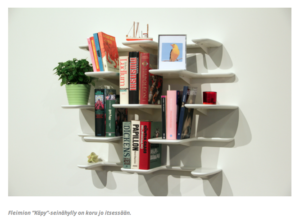 fleimio design wall shelf käpy