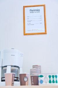 fleimio lounge's coffee and refreshments